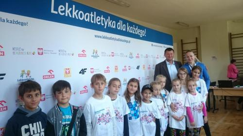 Mistrzostwa Polski LA U16.