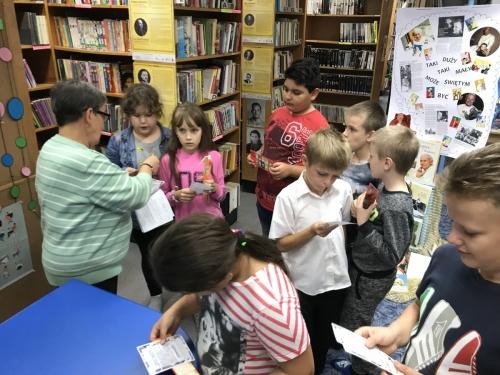 Z wizytą w Miejskiej Bibliotece Publicznej im. Juliusza Słowackiego (11.10.2018)